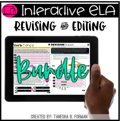 Interactive Revising and Editing - THE BUNDLE