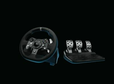 Logitech G920 Driving Force Racing Wheel & Pedals