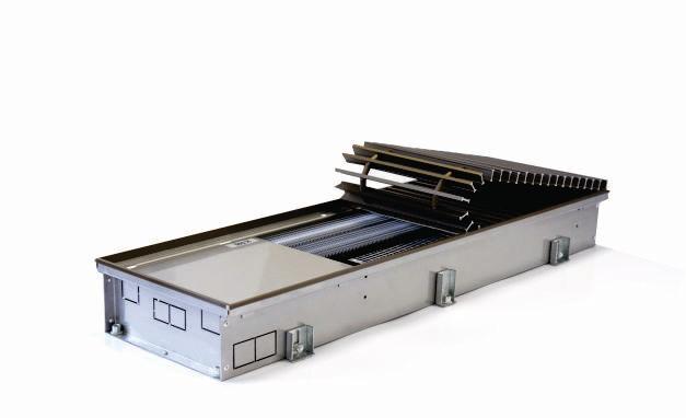 Podlahový konvektor s ventilátorem FXX | H-65 W-175