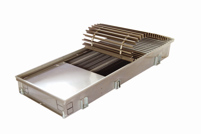 Podlahový konvektor bez ventilátoru NXX | H-80 W-175
