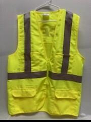 CORNERSTONE CLASS 2 MESH SAFETY VEST (CSV405) - LARGE
