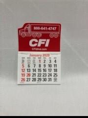 SMALL CFI STICKY CALENDAR