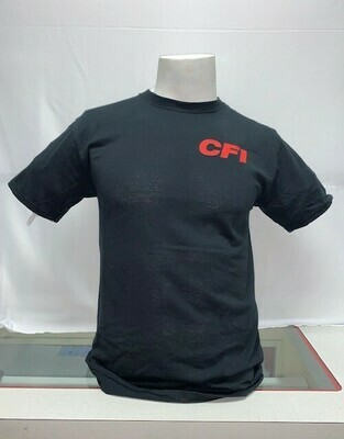 T-SHIRTS (NO POCKET) BLACK - 4X