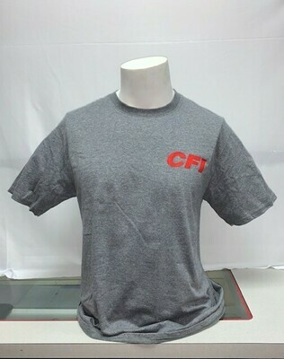 FAN FAVORITE T-SHIRT (PC455) GRAPHITE HEATHER - 4X