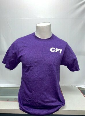 FAN FAVORITE T-SHIRT (PC455) TEAM PURPLE HEATHER - LARGE