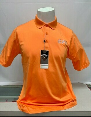 CALLOWAY OPTI-DRI MEN'S POLO (CGM550) BIRD OF PARADISE (ORANGE) - 2X