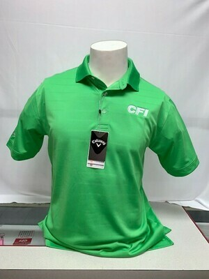 CALLOWAY OPTI-VENT MEN'S POLO (CGM451) VIBRANT GREEN - MEDIUM