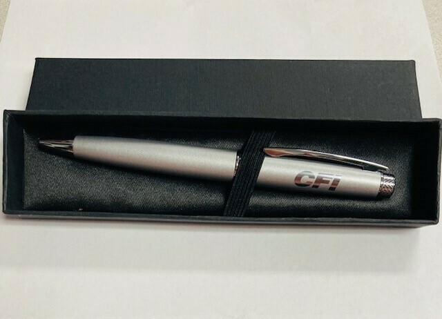 Bedford Ball Pen Twist w/ box - Silver