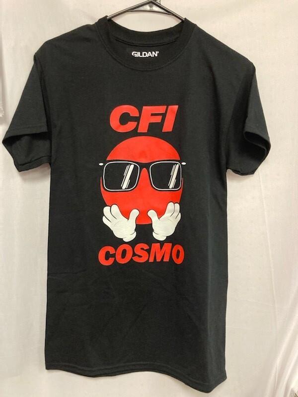 COSMO T-SHIRT BLACK - 2X