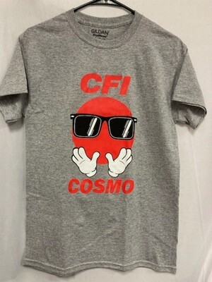COSMO T-SHIRT GREY - MEDIUM