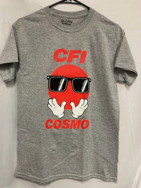 COSMO T-SHIRT GREY - SMALL