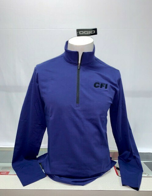 OGIO LIMIT 1/4 ZIP (OG139) NAVY - XL