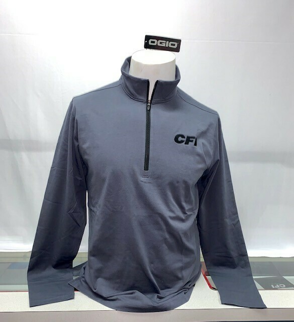 OGIO LIMIT 1/4 ZIP (OG139) DIESEL GREY - 2X