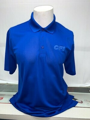 PORT AUTHORITY (K110) DRY ZONE POLO TRUE ROYAL - 6X