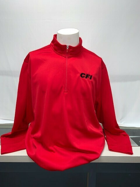 SPORT-TEK 1/2 ZIP PULLOVER (ST850) TRUE RED - 2X