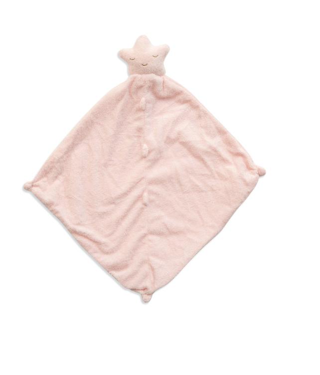 Angel Dear Blankie - pink star