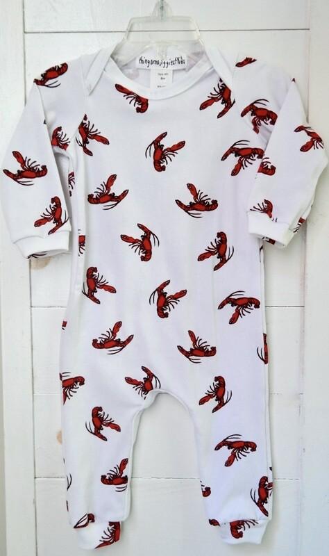 Thingamajiggies 4 Kids infant jumpsuit  - 9mos lobster
