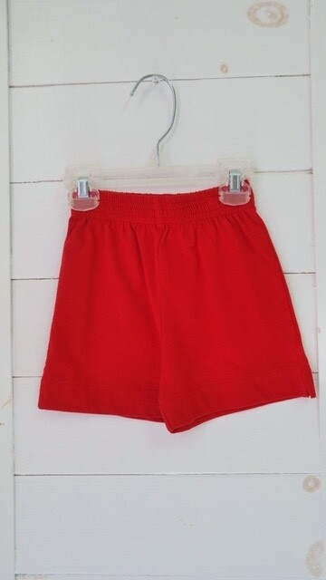 baby Luigi red shorts - 12mos