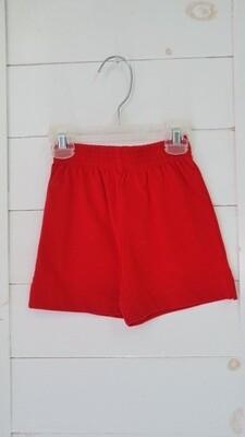 baby Luigi red shorts - 3mos