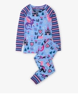Enchanted Forest Raglan PJ set