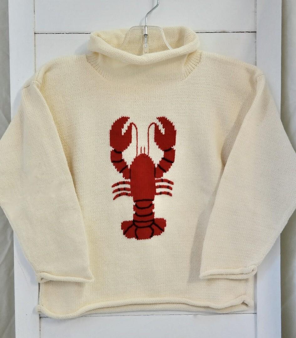 Claver roll neck sweater - 3t ecru
