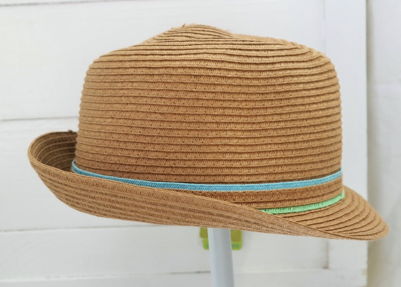 CaliKids Woven Porkpie Hat - adult