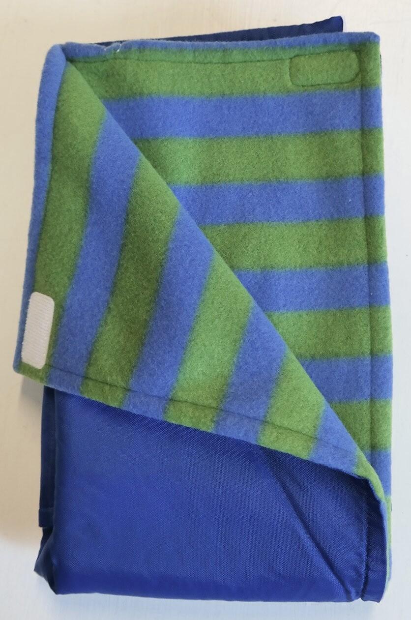blue & green stripe/royal