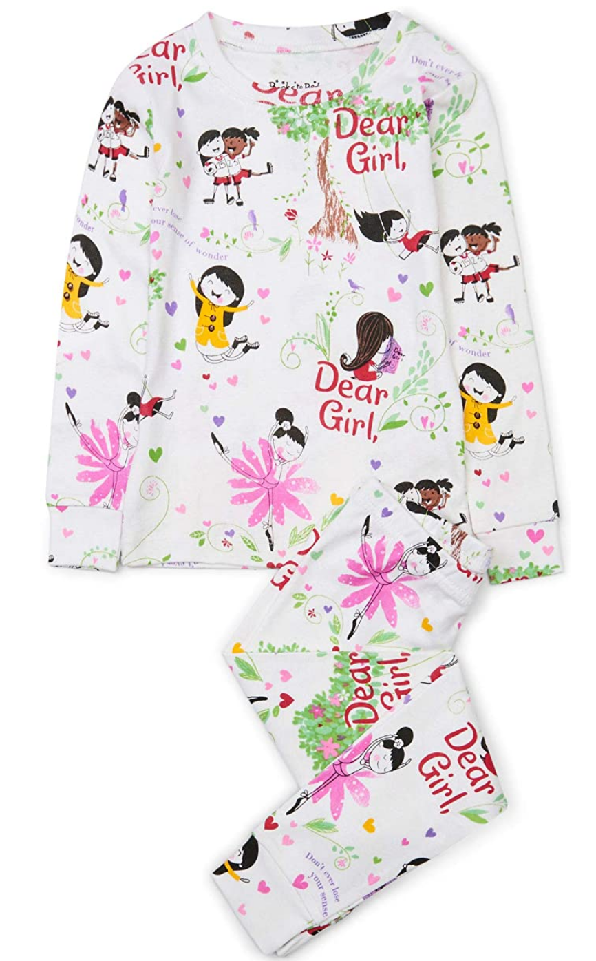 Books to Bed 2 Piece PJ set - 4T Dear Girl