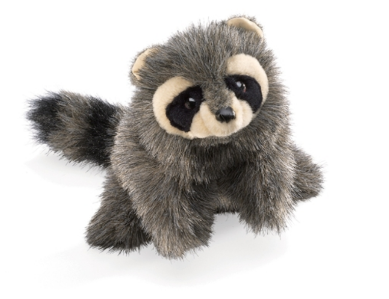 Folkmanis Puppet - Racoon