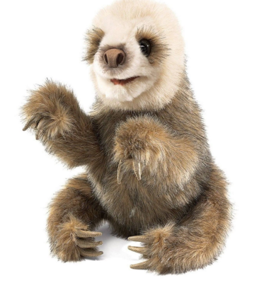 Folkmanis Puppet - Baby Sloth