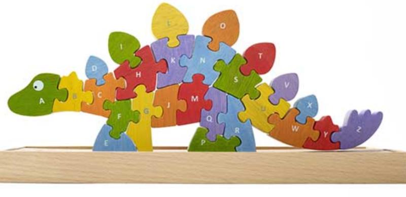 Dinosaur A-Z Wooden Puzzle