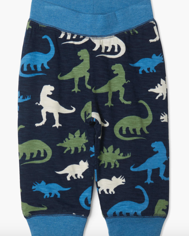 silhouette dinos reversible jogger