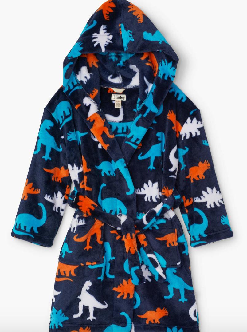 Silhouette Dinos Fleece Robe