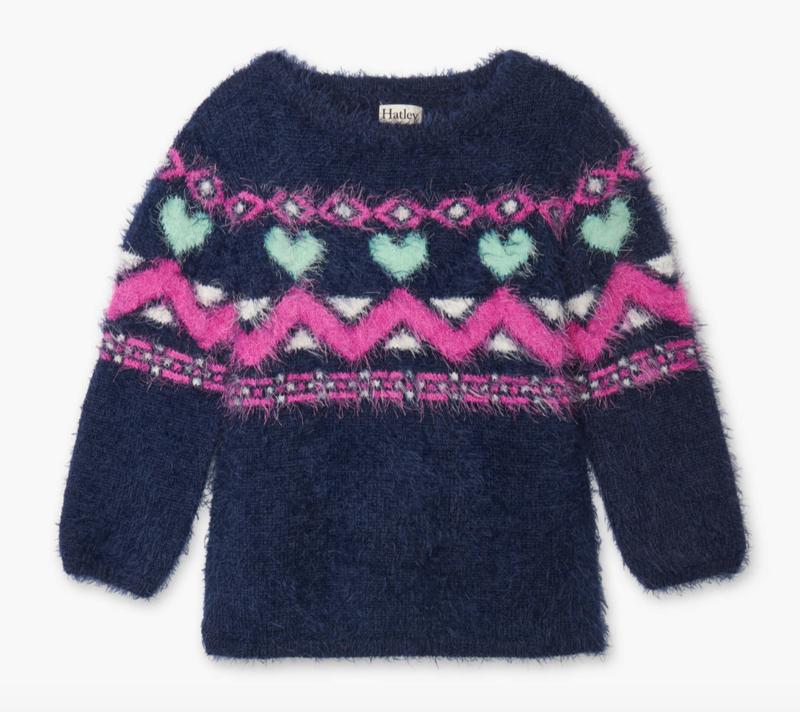 Fair Isles Fuzzy Sweater