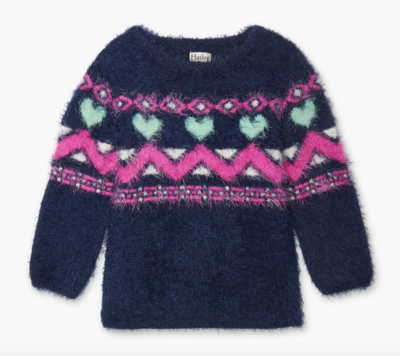 Fair Isles Fuzzy Sweater
