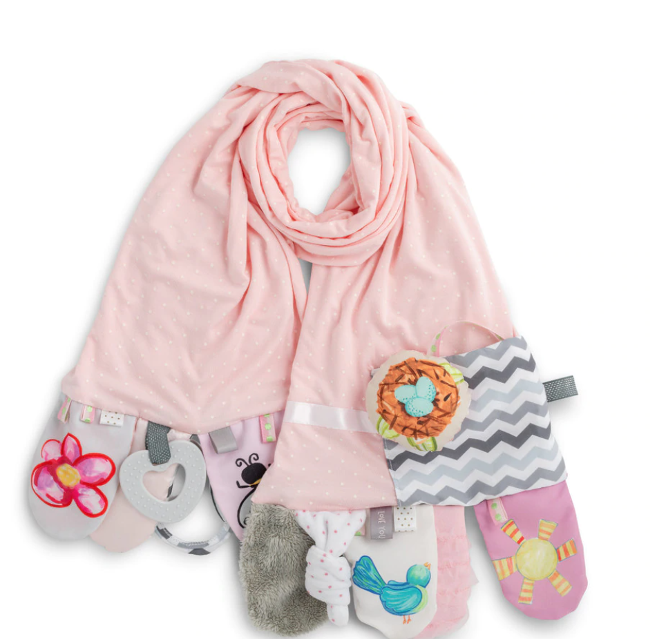 Mommy & Me Activity scarf pink dot