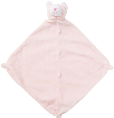 Angel Dear Blankie - pink kitty