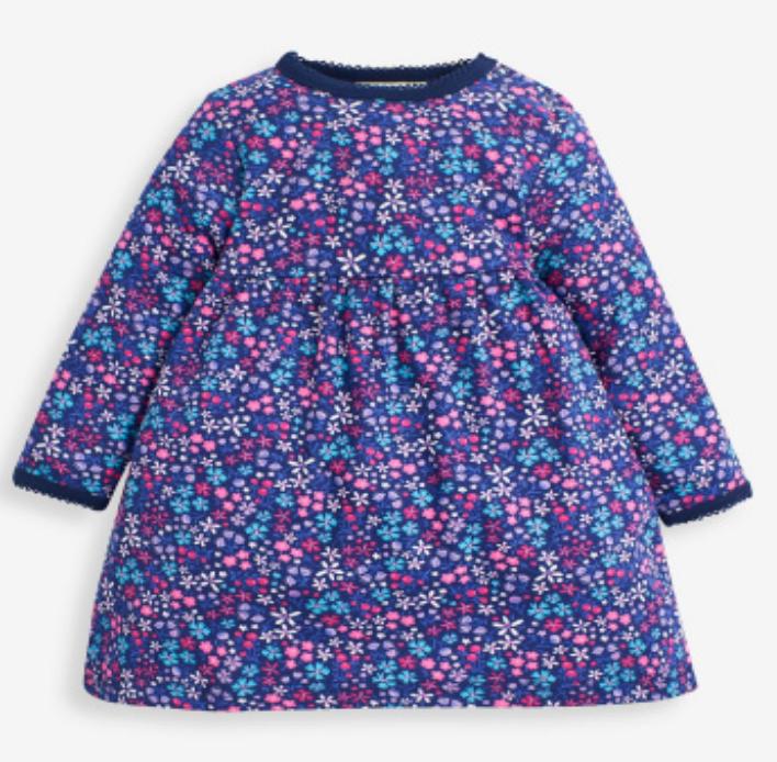 Jewel Floral Classic Dress