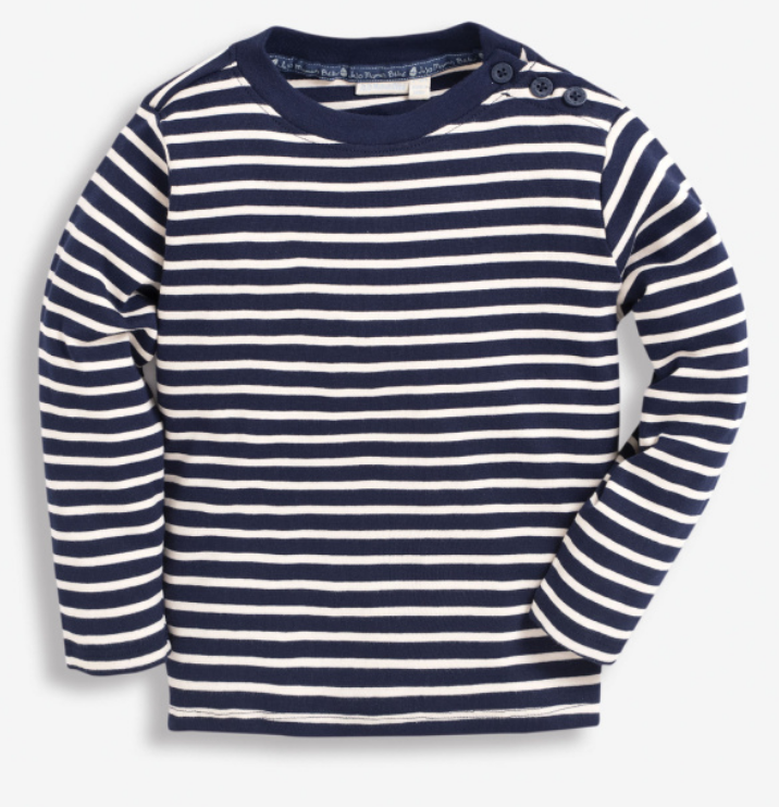 Breton Long Sleeve Top