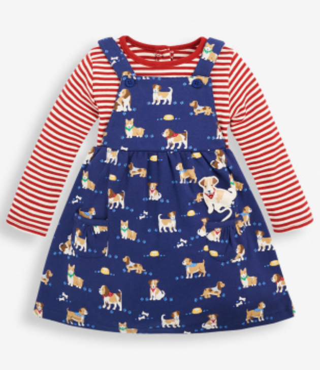 Puppy Pinafore