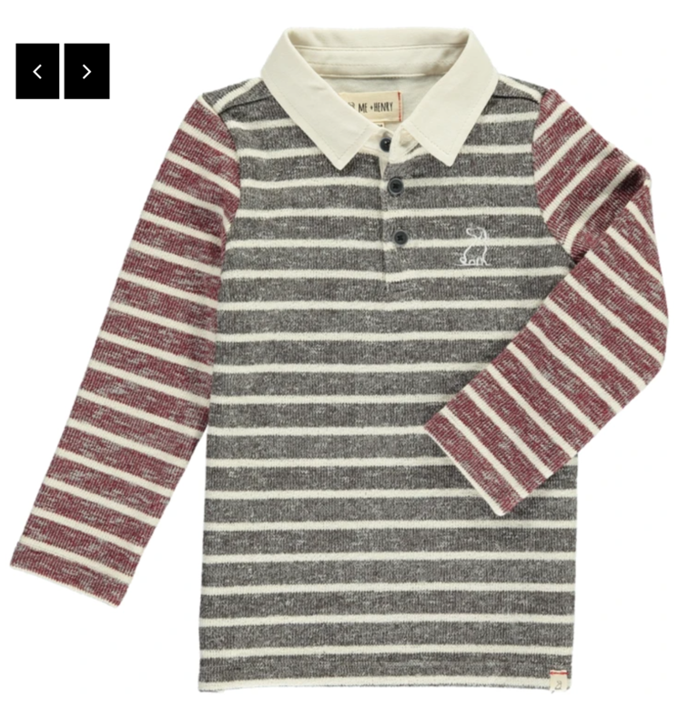 Brown Stripe Rugby
