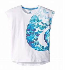 Flutter Sleeve Mermaid Tee - 4