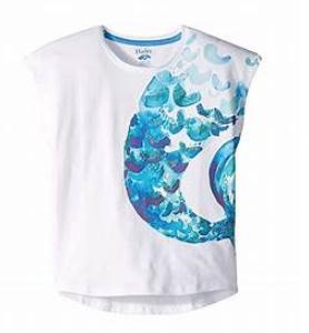Flutter Sleeve Mermaid Tee - 4
