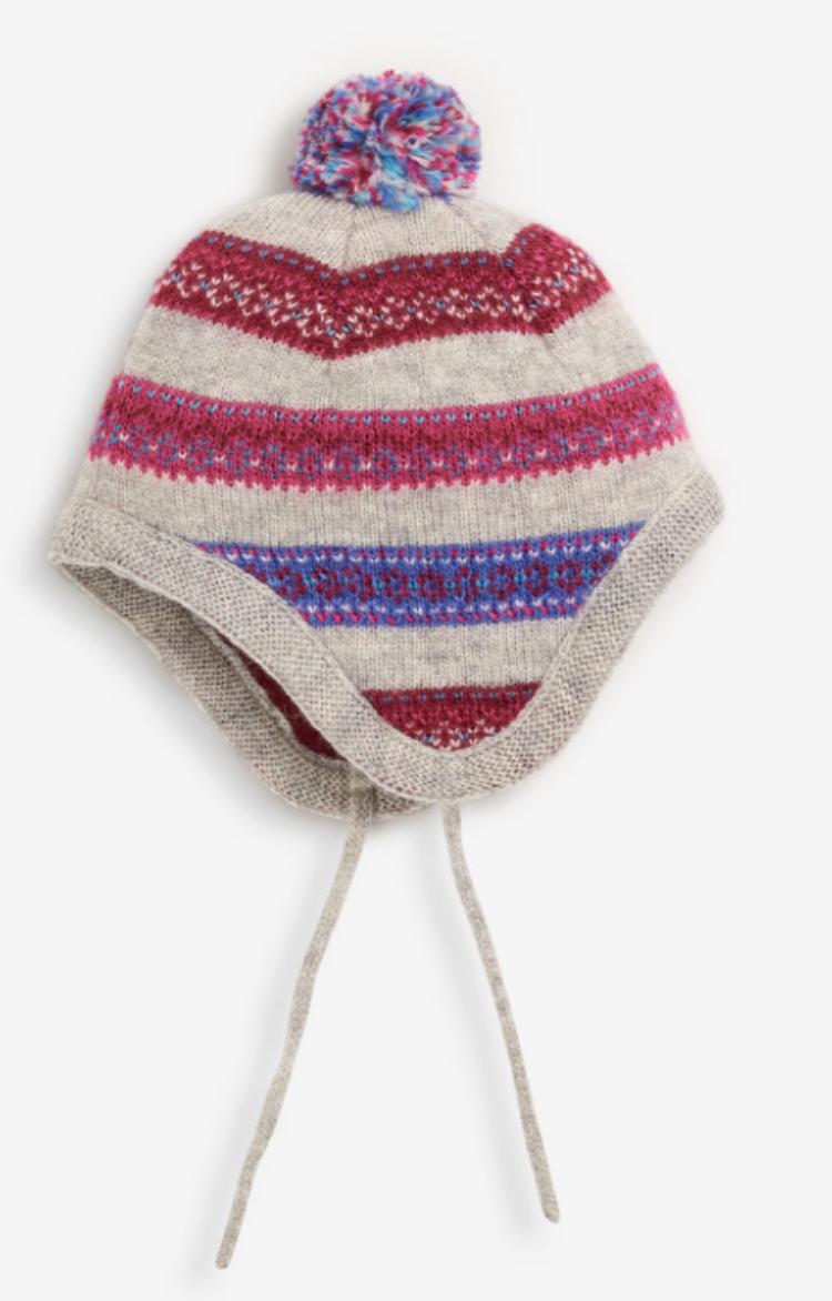 Fair Isle Stripe Hat