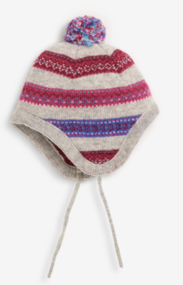 Fair Isle Stripe Hat