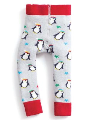 cozy leggings - penguins 6-12mos
