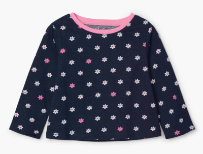 dainty blooms l/s tee