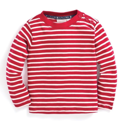 JoJo L/S Red Stripe