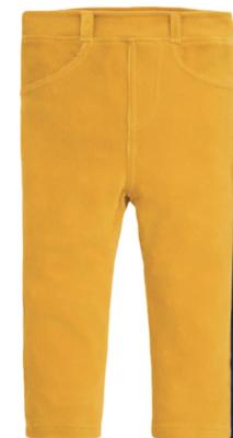 Jojo cord jeggings mustard/violet
