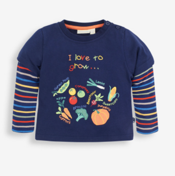Jojo I love to grow L/S tee
